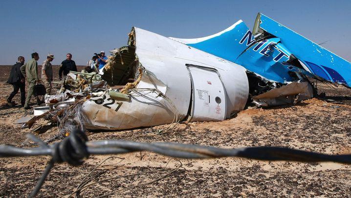 Airbus-Absturz auf dem Sinai: Suche nach der Unglücksursache