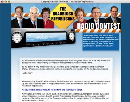 Pikantes Polit-Radio: Demokraten machen Wahlkampf per Radiospot