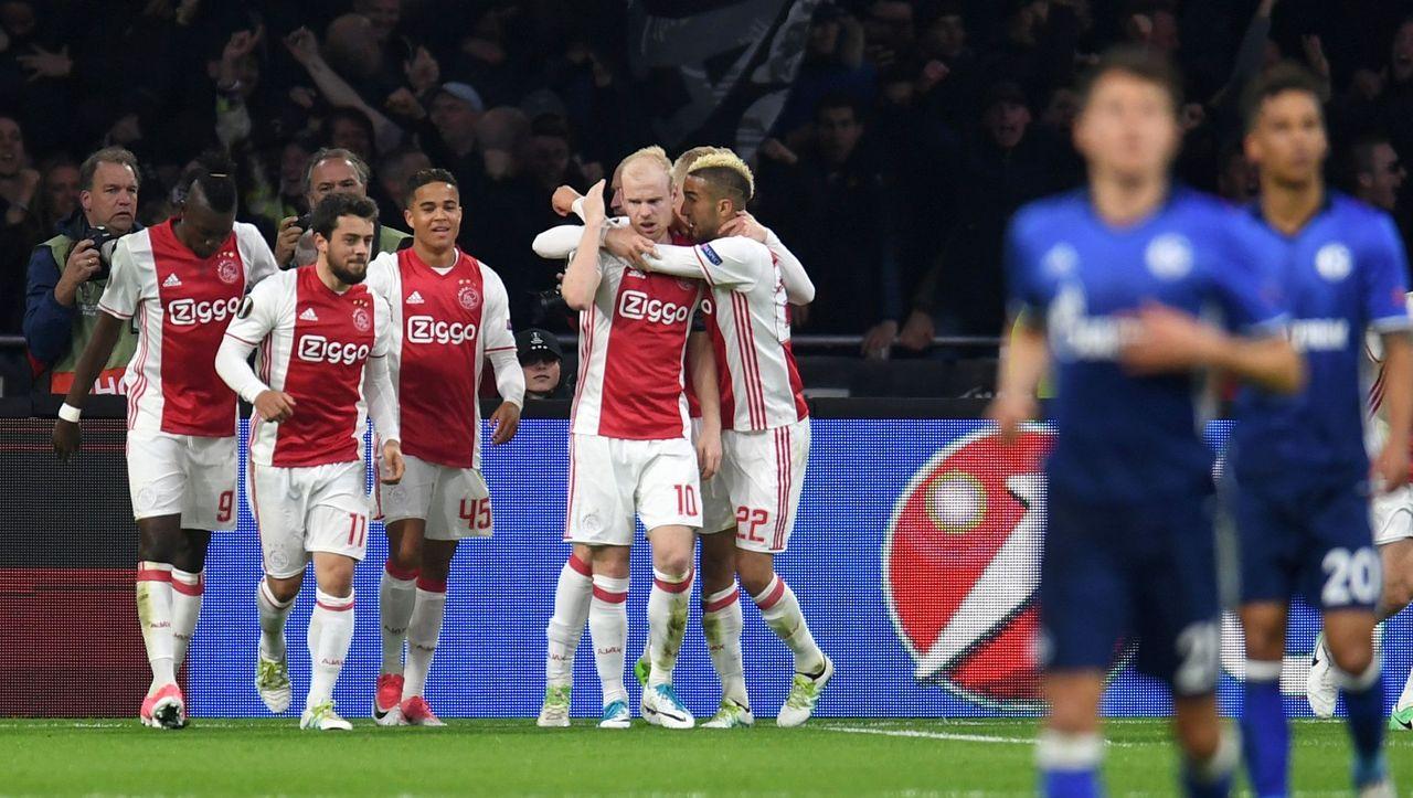 Schalke Gegen Ajax Amsterdam