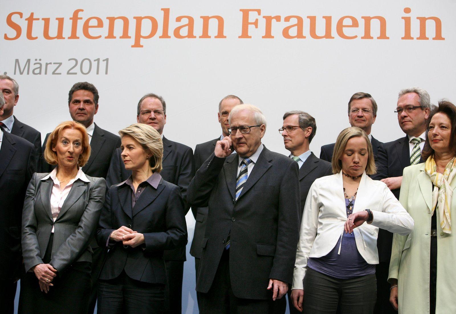 Schröder Gipfel Frauenquote