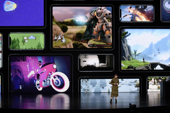 Präsentation von Apple Arcade