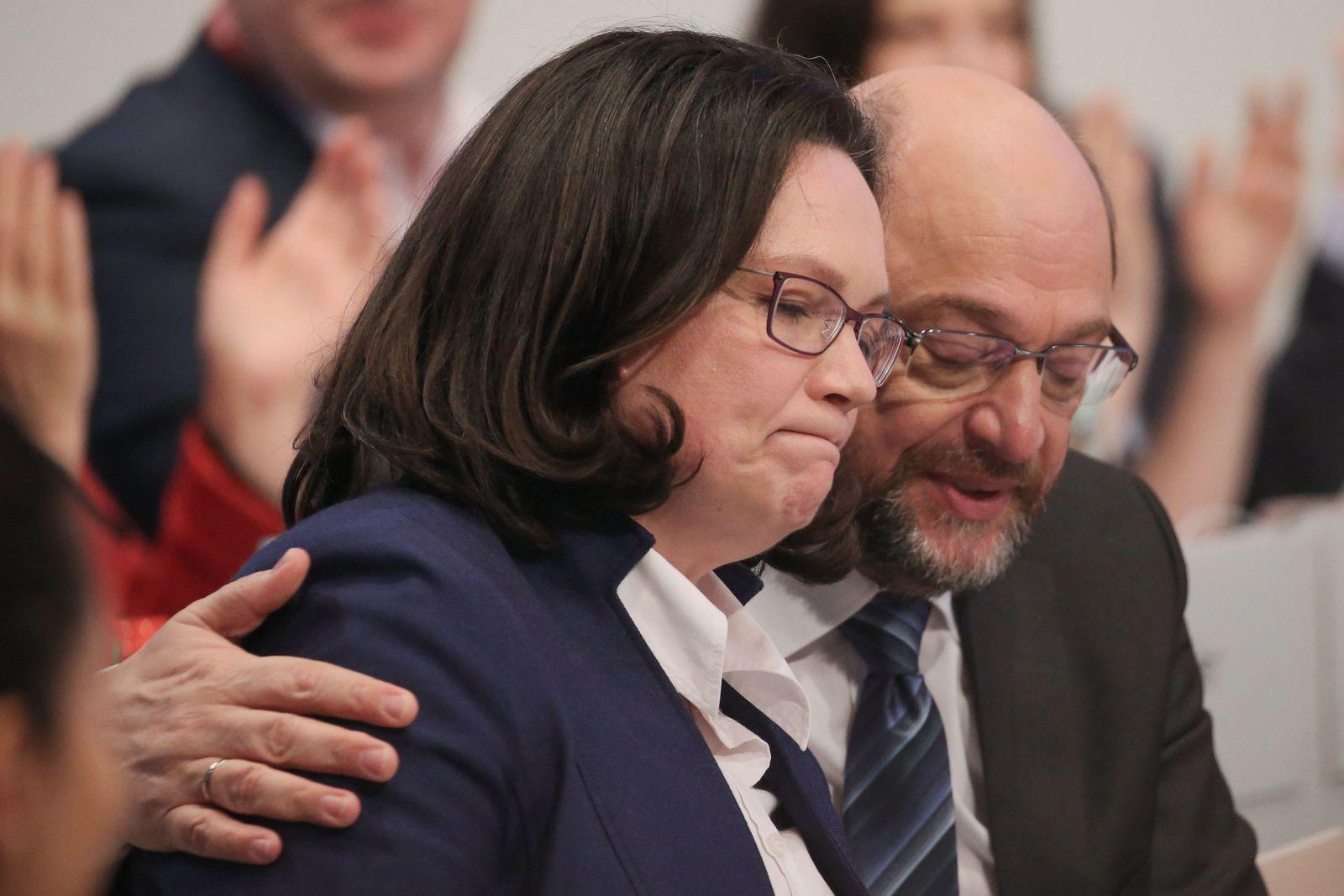Nahles/ Schulz