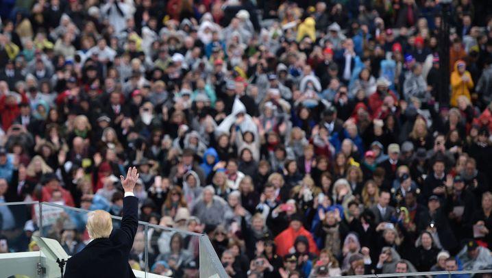 Vereidigung: Trump-Show in Washington