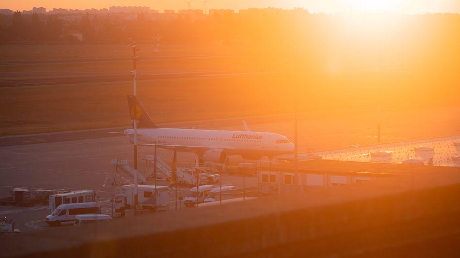 Wochenlang blieben die Flugzeuge der Lufthansa am Boden. Jetzt fliegt die Airline wieder deutsche Touristen - zum Beispiel auf die Balearen