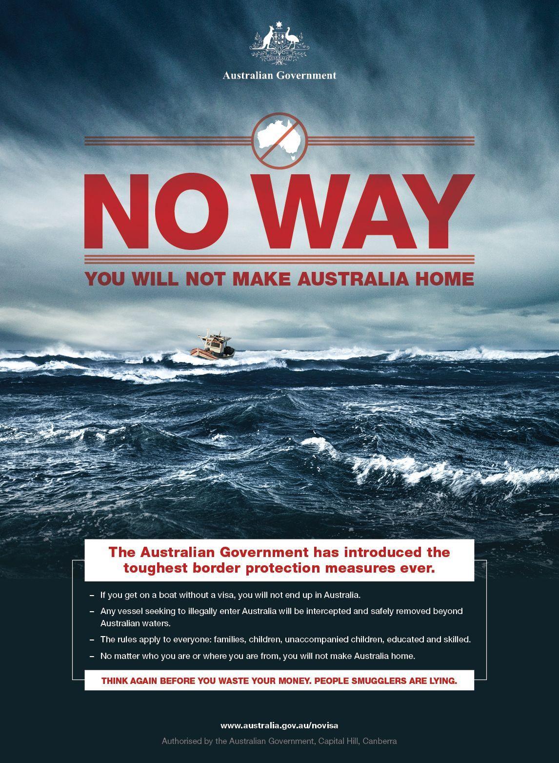 Flüchtlinge/ Kampagne/ Australien
