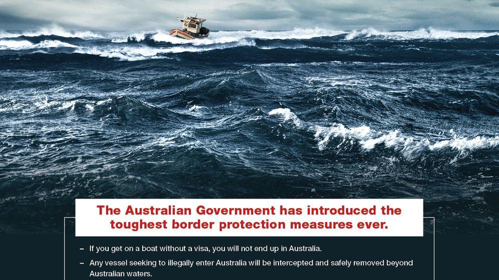 """Australiens Kampagne: """"No Way"""" für Bootsflüchtlinge"""
