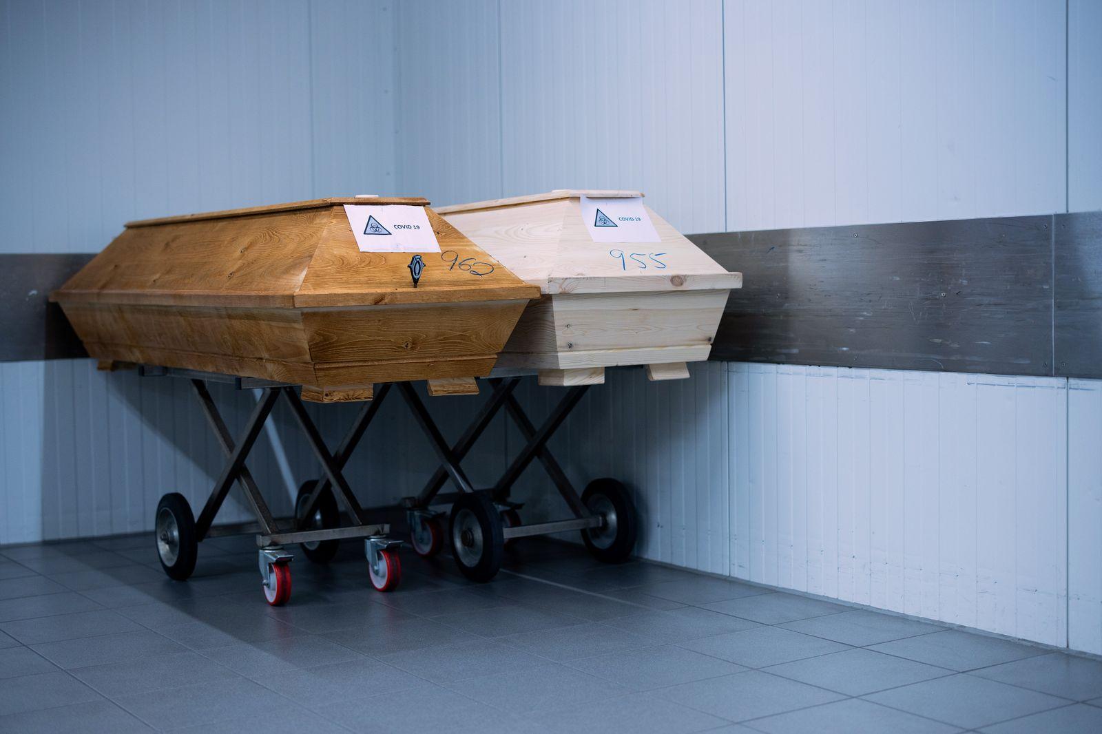 Coronavirus - Krematorium