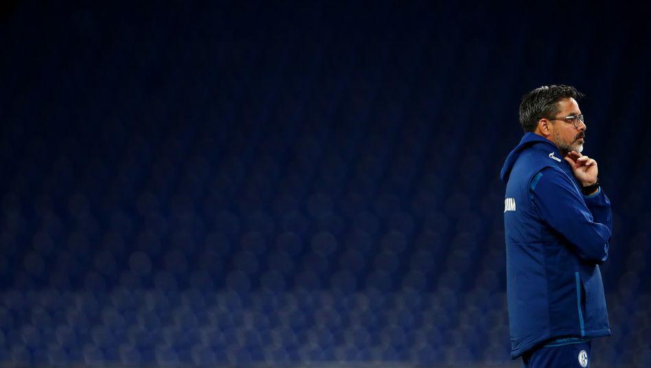 Schalkes David Wagner am letzten Spieltag vor seiner Entlassung