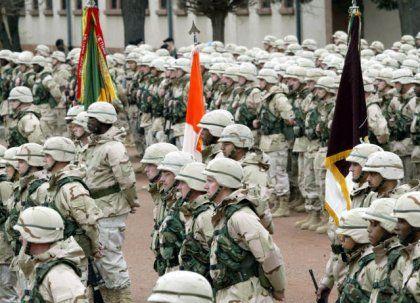 Aufmarsch zum Jahrestag: Das V. Korps der US Armee in Heidelberg