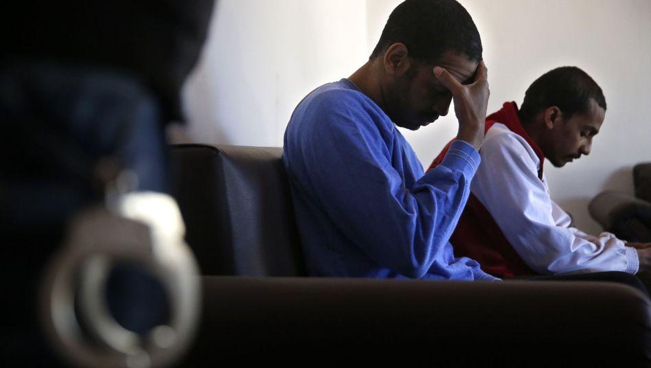 Kotey und Elscheich im M??rz 2018 in Syrien: US-Medienberichten zufolge sollen sie nun in den Irak gebracht werden