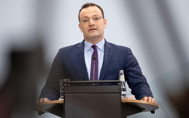 GesundheitsministerJens Spahn