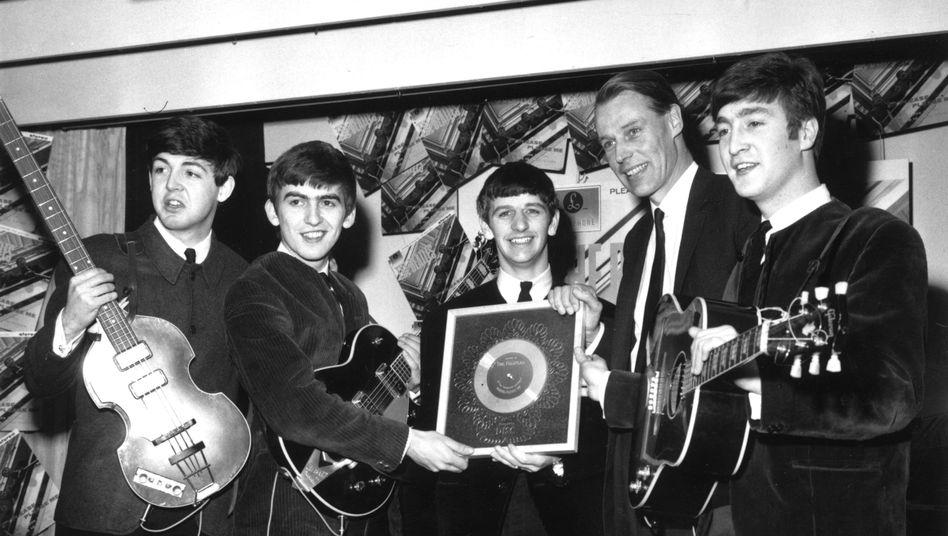 Ringo-Starr-Posting: Beatles-Produzent George Martin gestorben