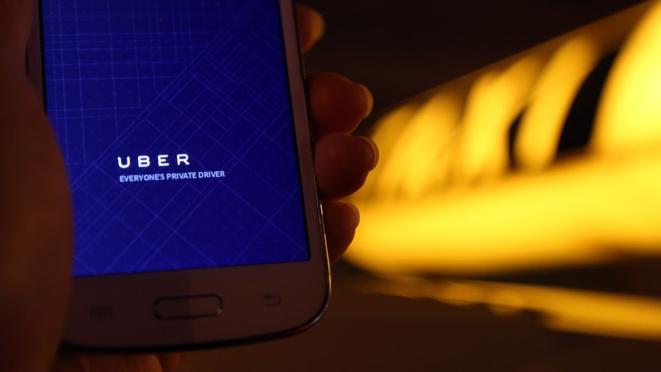 Handy-App Uber Pop: Taxigewerbe wirft dem Fahrdienst unfairen Wettbewerb vor