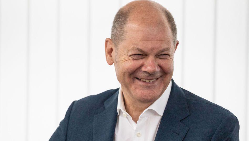 SPD-Politiker Scholz: Er ist der Wunschkandidat der Union