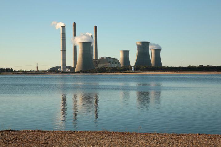 Kohlekraftwerk in Georgia
