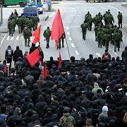 Demonstration in Hamburg: Solidarität mit griechischen Studenten