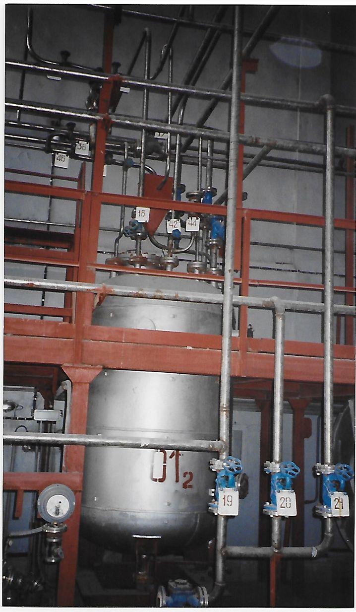 Produktionsanlage im usbekischen Nukus