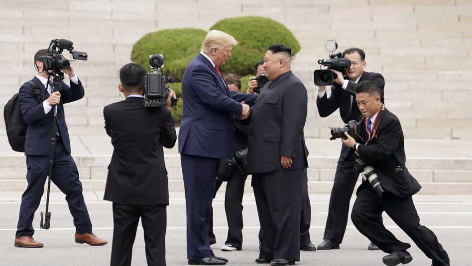 Trump und Kim im Juni 2019