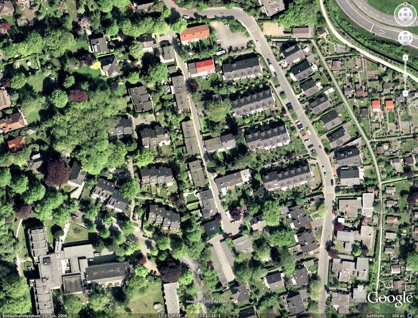 Google Earth - Luftbild Hamburg