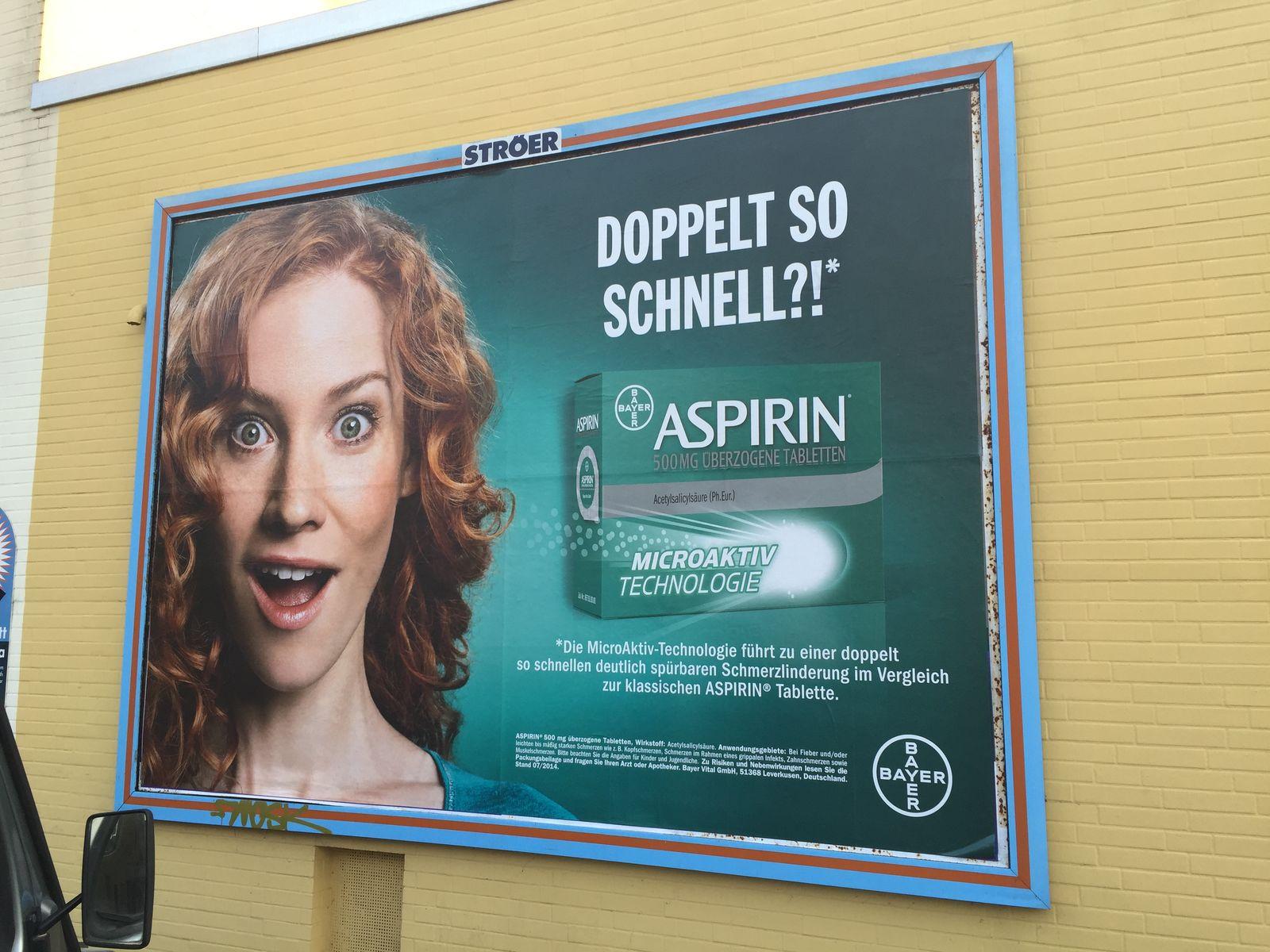 Aspirin / Werbung