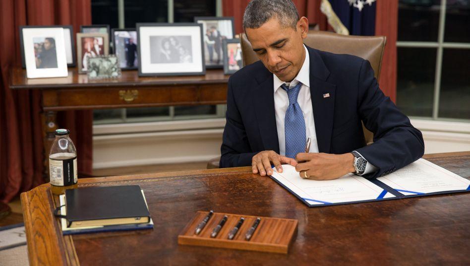 US-Präsident Obama: Angriff auf die Republikaner