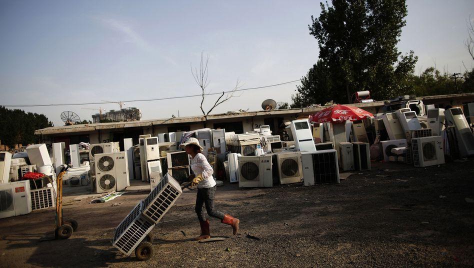 Elektroschrott-Friedhof am Rande von Peking: Bedenkliche Wegwerfmentalität