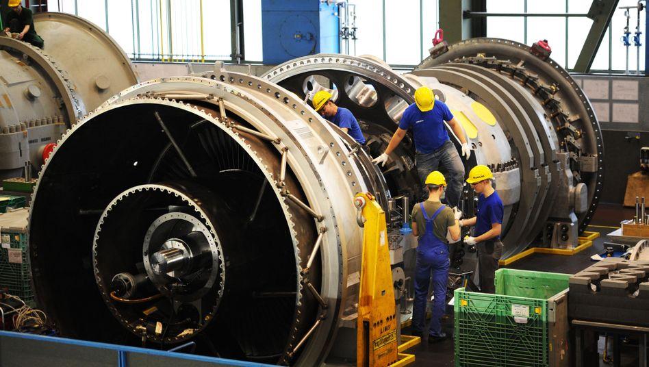 Siemens-Gasturbinenwerk in Berlin