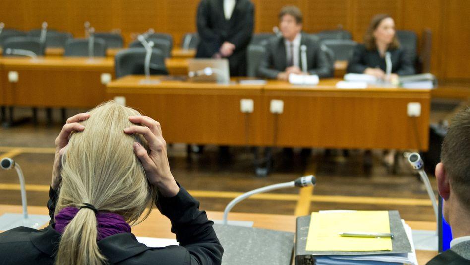 Kachelmanns Ex-Freundin im Verhandlungssaal: Hat Claudia D. falsch ausgesagt?