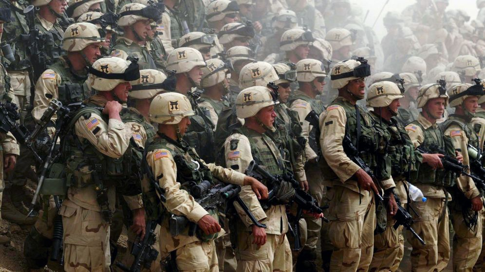 US-Besatzer im Irak: Sie brachten Baseballtrikots