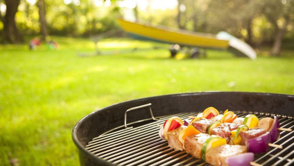 Grillspieße: Mageres Fleisch ist die gesündere Alternative