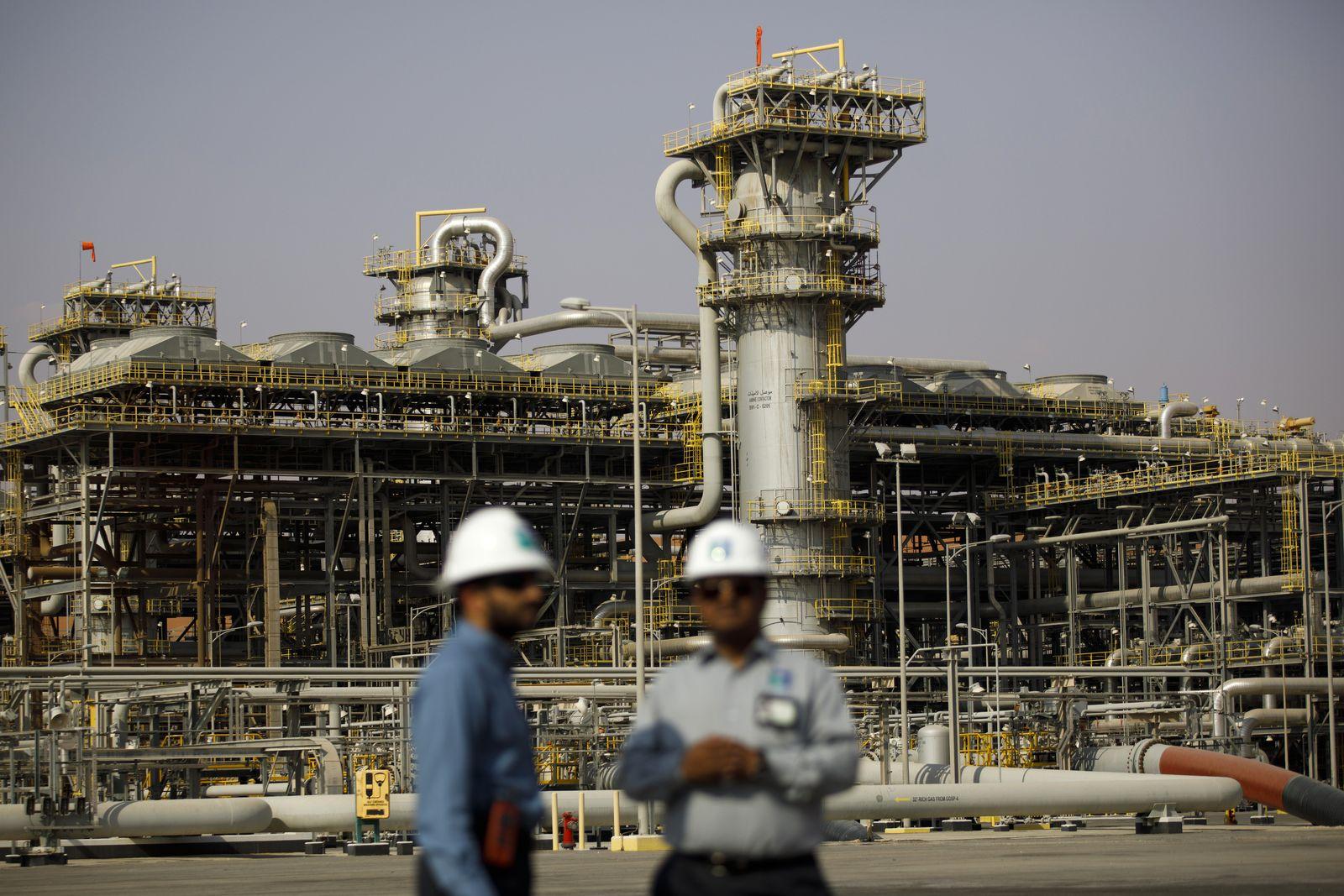 EINMALIGE VERWENDUNG Saudi Arabien/ Ölförderung