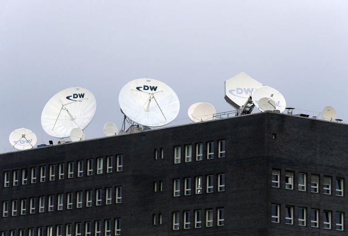Deutsche Welle Büro in Berlin: In Russland frei und uneingeschränkt berichten können