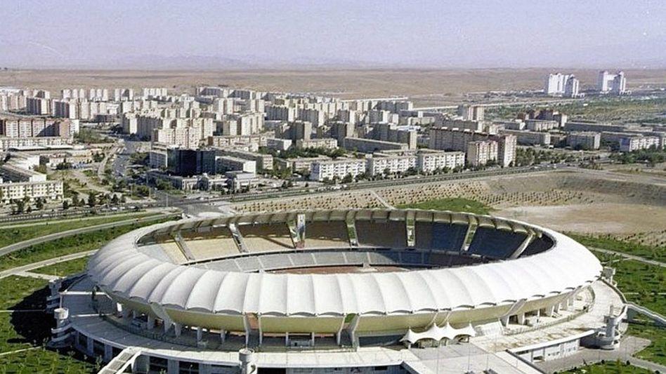 Sportbau in Aschgabat
