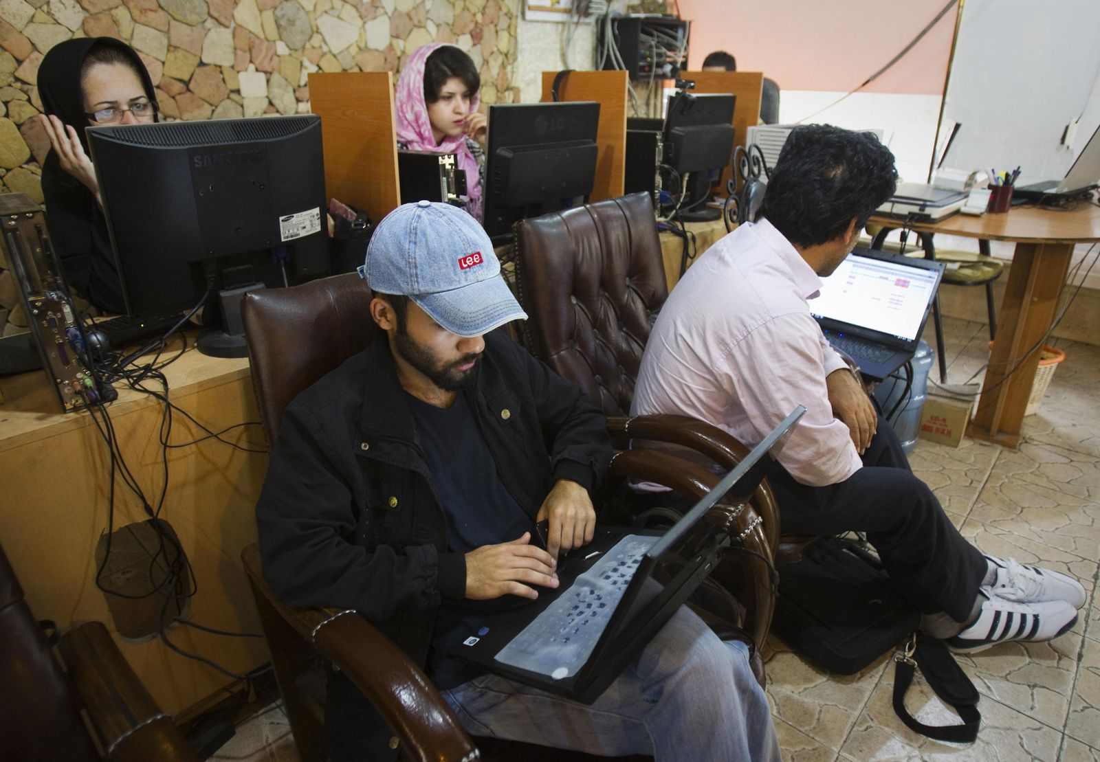 Iran / Internetcafe