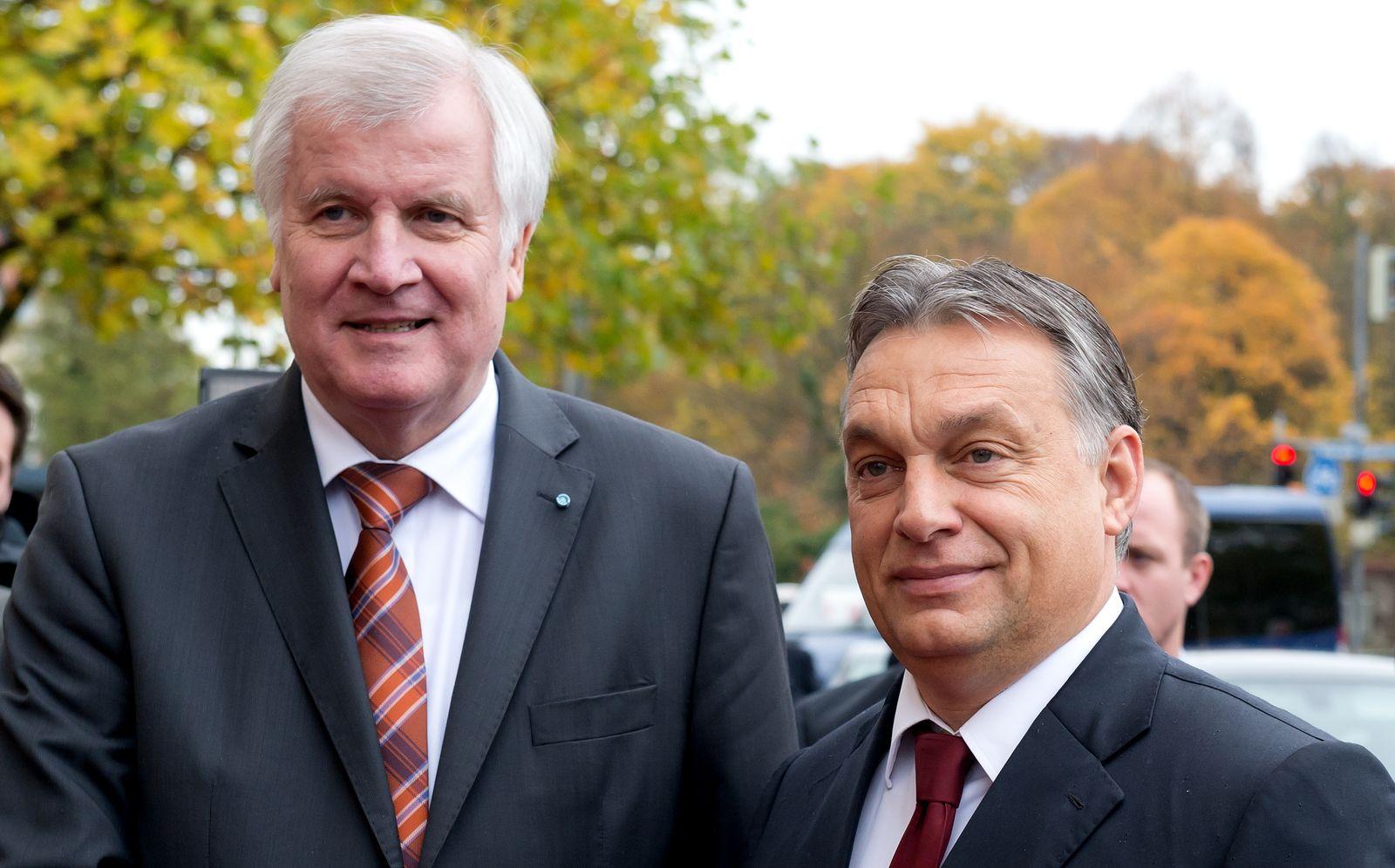 Seehofer empfängt Orban