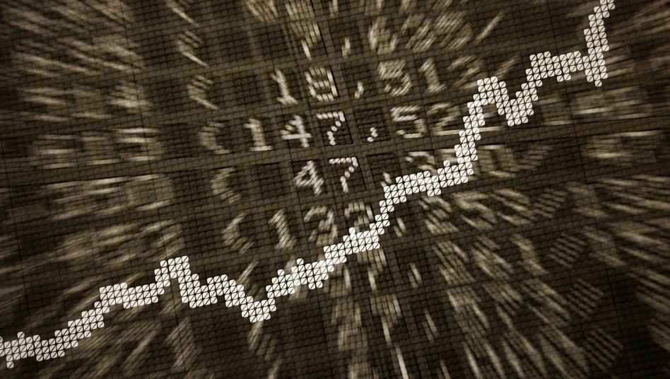 Börsentafel (Symbolbild)