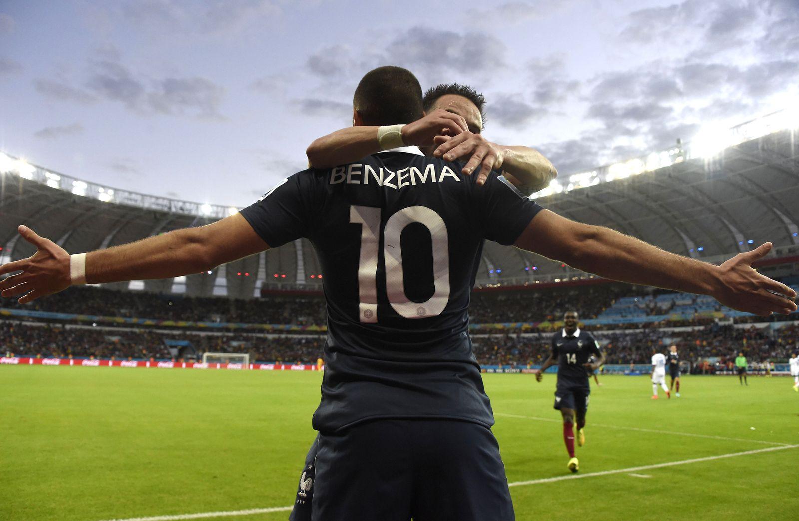 WM 2014 Zwischenbilanz/ Karim Benzema