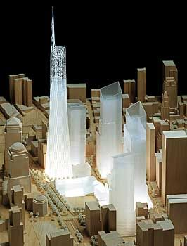 Modell des neuen WTC: Auch die Allianz muss zahlen