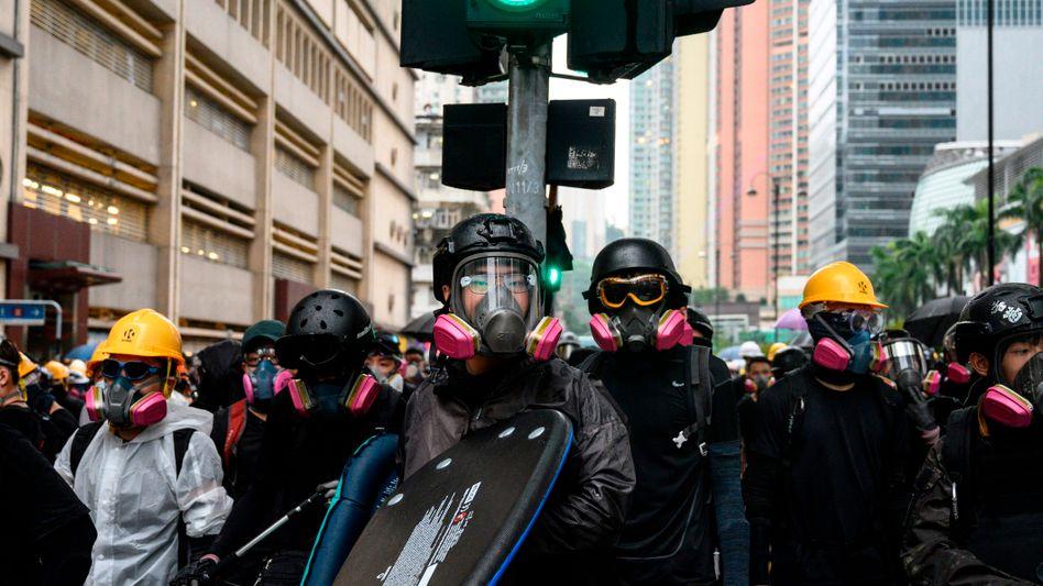 Proteste in Hongkong: Im Sommer 2019 kam es zu Massendemonstrationen gegen die Peking-nahe Regierung
