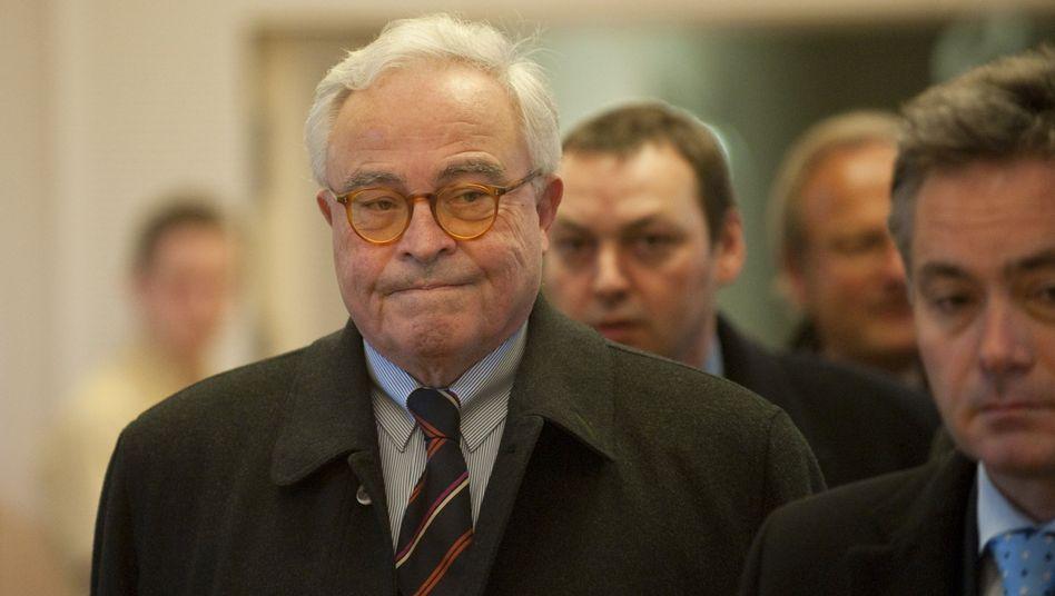 Ex-Deutsche-Bank-Chef Breuer: Er hatte die Kreditwürdigkeit Kirchs öffentlich angezweifelt