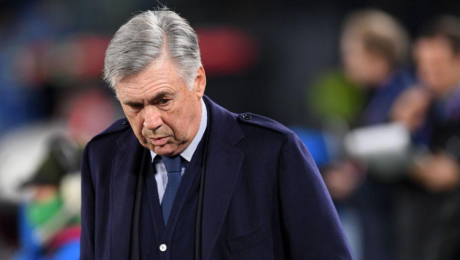 Carlo Ancelotti vor der Champions-League-Partie gegen Genk