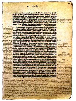 Columbus-Notizen in geografischem Werk: Eine Wette auf das Glück