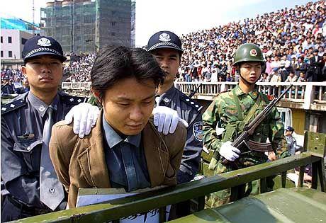 Die Todesstrafe wird oft öffentlich vollstreckt