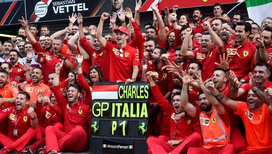 Charles Leclerc hat Sebastian Vettel bei Ferrari den Rang abgelaufen