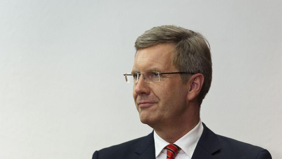 """Bundespräsident Wulff: """"Das muss man verantworten - das kann ich"""""""