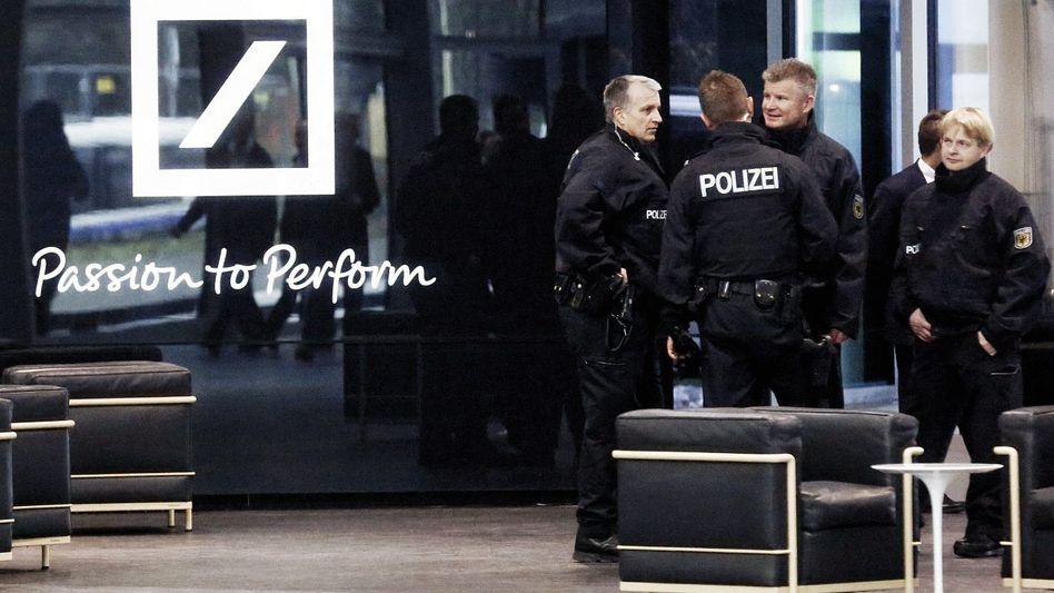 Razzia bei der Deutschen Bank 2012 Das Gericht betrogen?