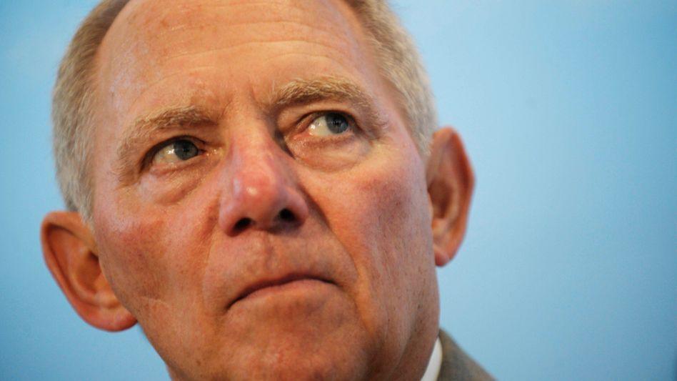 Bundesfinanzminister Schäuble: Appell an die Banken