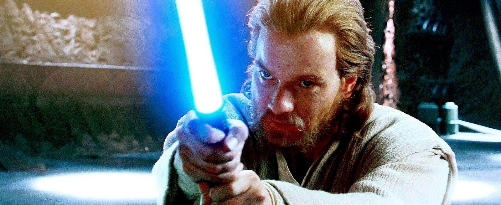 EINMALIGE VERWENDUNG Star Wars/ Ewan McGregor