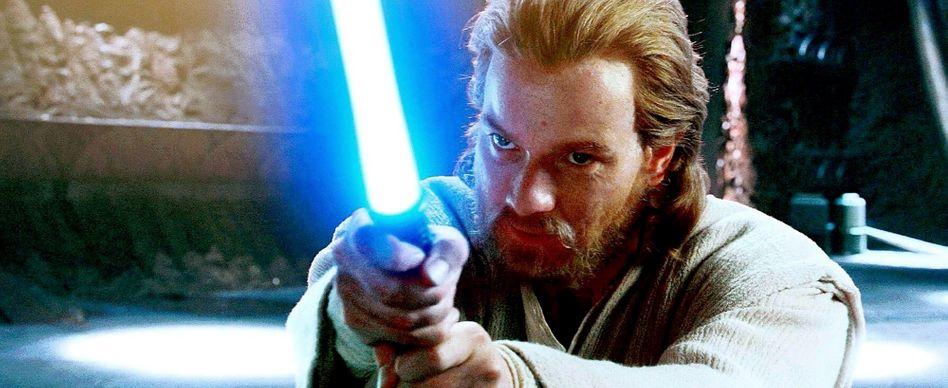 """In """"Star Wars: Episode II - Angriff der Klonkrieger"""" (2002) trainierte Ewan McGregor als Jedi-Meister Obi-Wan Kenobi den jugendlichen Anakin Skywalker - bald kommt er in der berühmten Rolle zurück."""