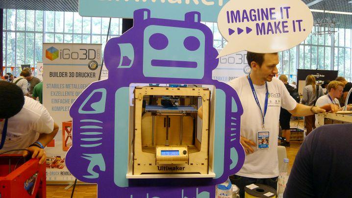 Maker Faire in Hannover: 3-D-Drucker und Computerköche